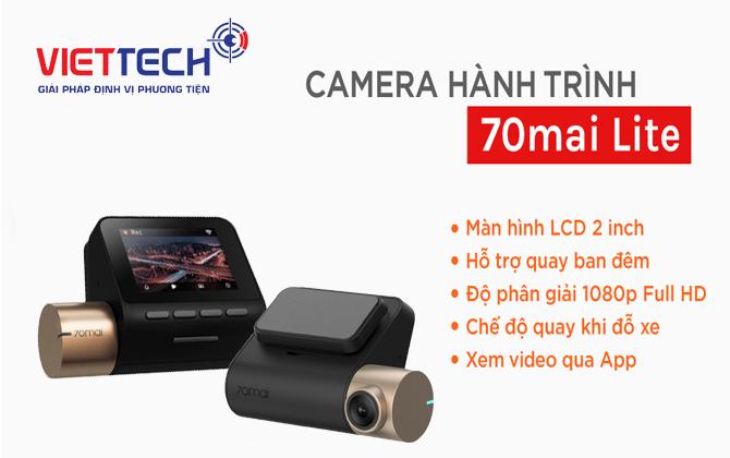 Camera hành trình Xiaomi 70mai Lite, camera hành trình full hd, camera hành trình mini