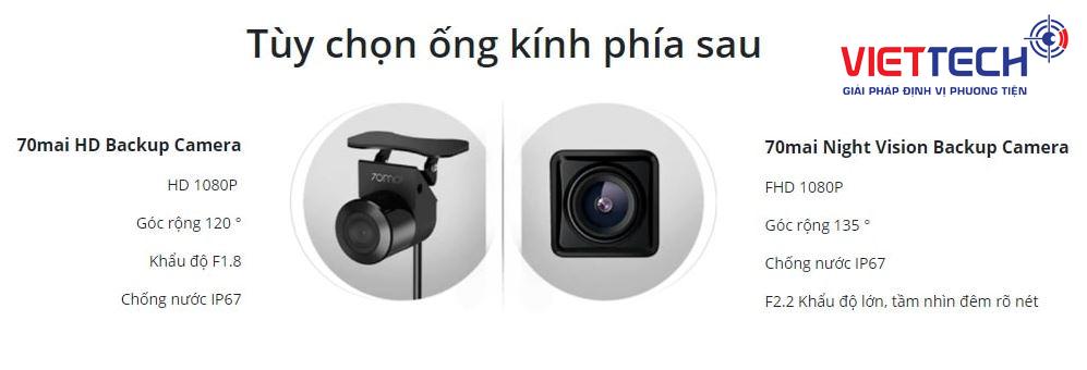 Camera hành trình gương Xiaomi, camera hành trình gương, camera hành trình chính hãng