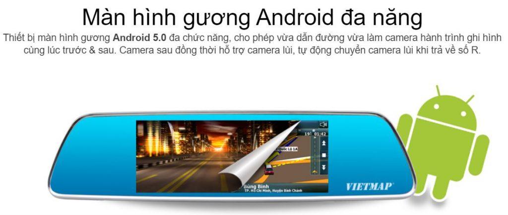 Camera hành trình IDVR P1, camera hành trình dạng gương, camera hành trình phân giải cao