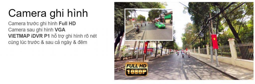 Camera hành trình IDVR P1, camera hành trình ô tô, camera ghi hình trước sau