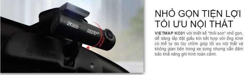 camera hành trình Vietmap KC01, camera hành trình mini