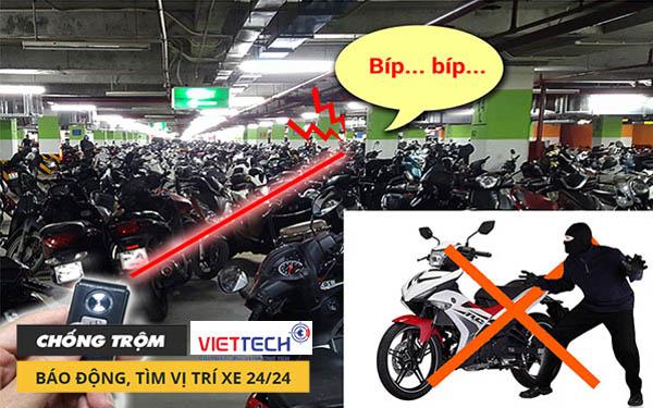 Định vị chống trộm xe máy - có nên lắp định vị cho xe máy