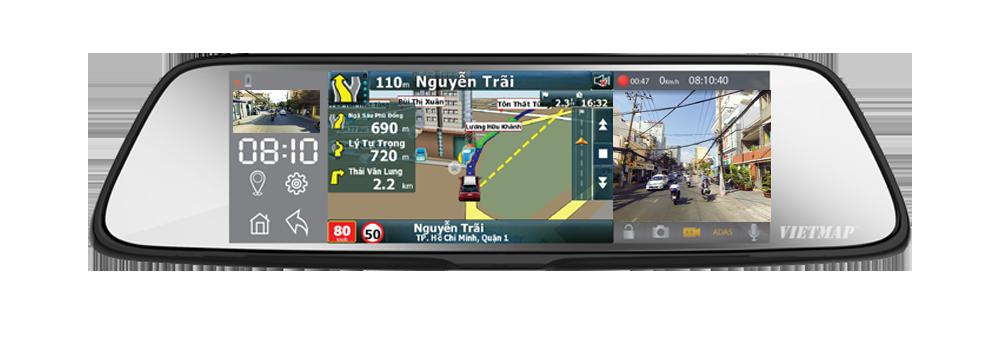 vietmap g79, camera hành trình dẫn đường, camera hành trình
