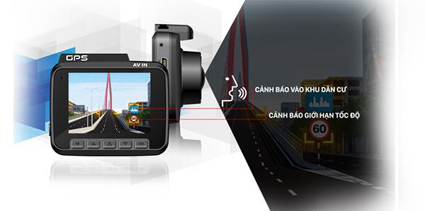 Camera hành trình dẫn đường, camera hành trình tích hợp dẫn đường, camera hành trình kiêm dẫn đường,