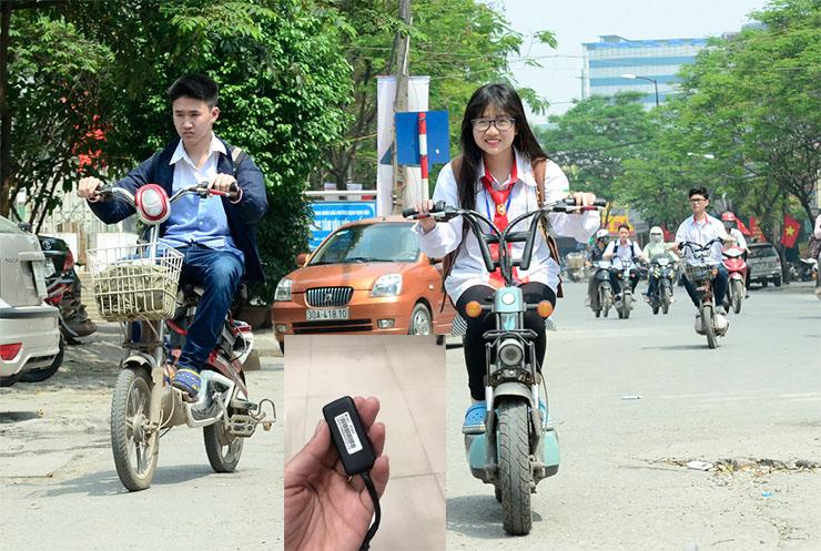 thiết bị định vị xe đạp điện, thiết bị định vị, bộ định vị xe máy,