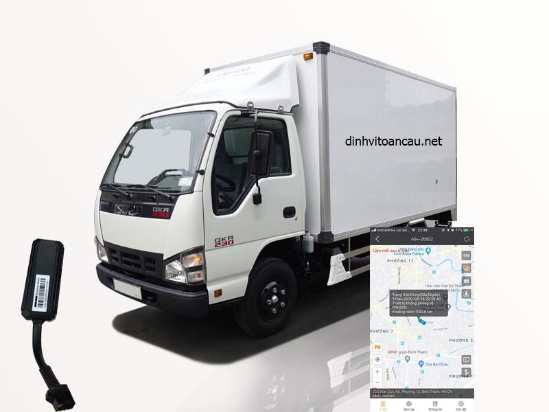 thiết bị định vị xe tải - viettechgps