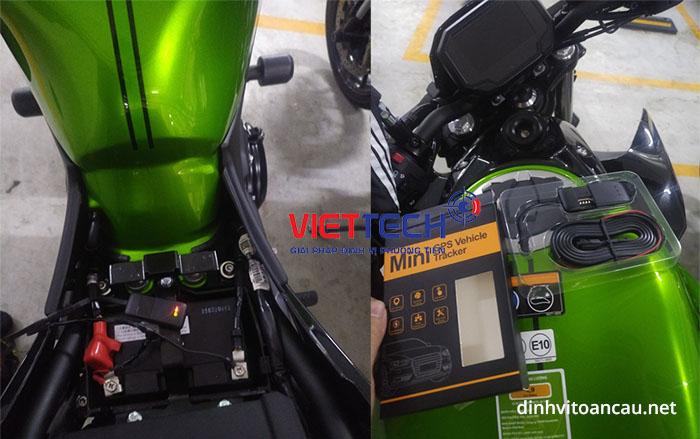 Vị trí lắp định vị xe máy - Định vị xe máy Viettech
