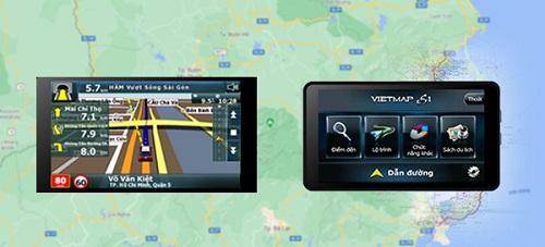 Phần mềm dẫn đường, phần mềm dẫn đường cho ô tô, phần mềm chỉ đường google map,