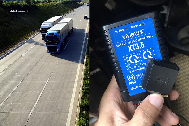 thiết bị định vị xe tải, lắp thiết bị định vị xe tải, quy định gắn định vị xe tải