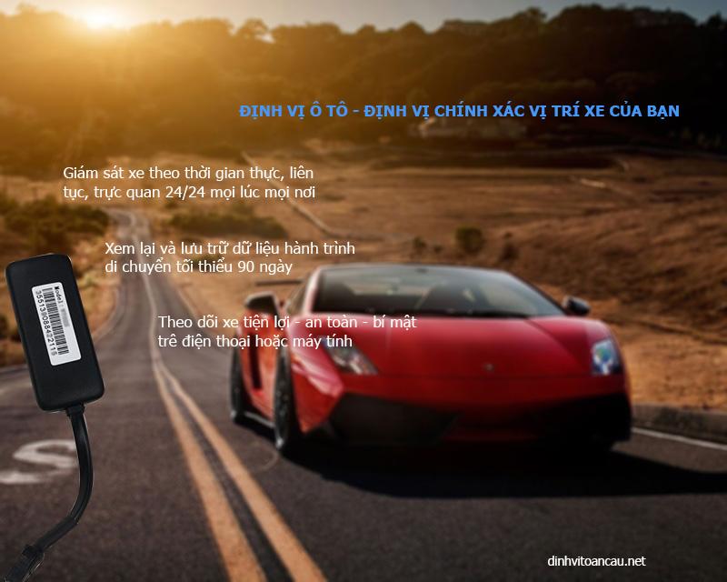 định vị ô tô, định vị xe ô tô, tính năng của định vị ô tô