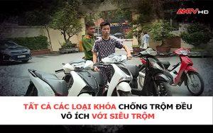 định vị xe máy chống siêu trộm, trộm xe máy, định vị xe máy khỏi siêu trộm