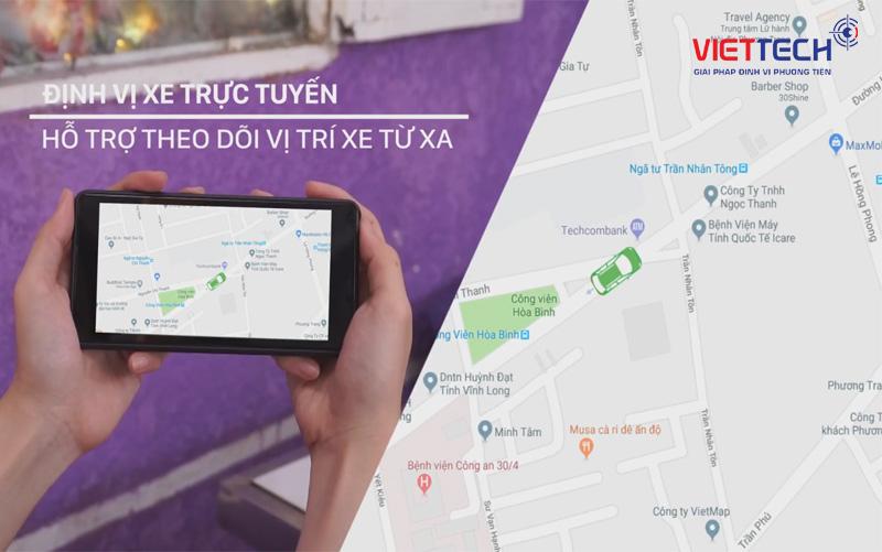 camera hành trình giám sát trực tiếp, camera hành trình định vị vị trí xe