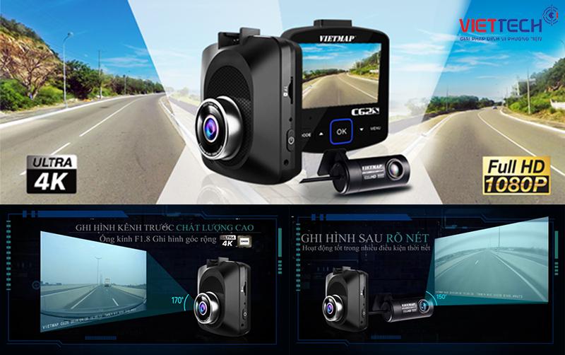 camera hành trình ô tô gi hình HD, camera hành trình vietmap ghi hình full HD
