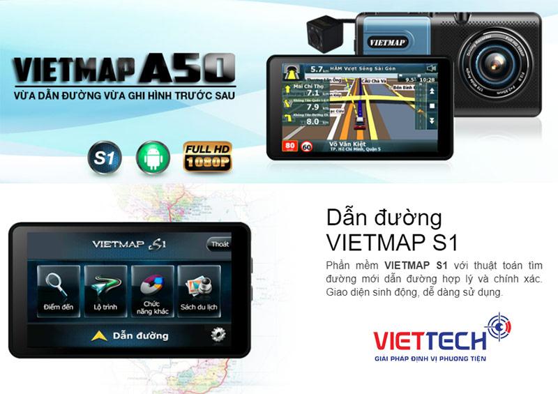 chức năng của camera hành trình - Camera dẫn đường ô tô Vietmap A50