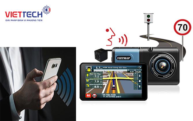 camera hành trình kiêm dẫn đường A50, camera hành trình ô tô