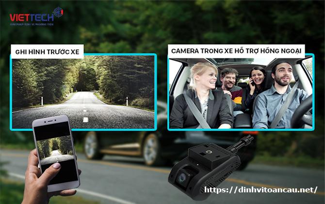camera hành trình giám sát trực tiếp, camera hành trình ICAM VN200,camera giám sát xe khách