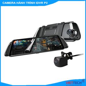 camera hành trình ô tô gương, camera hành trình vietmap idvr p2