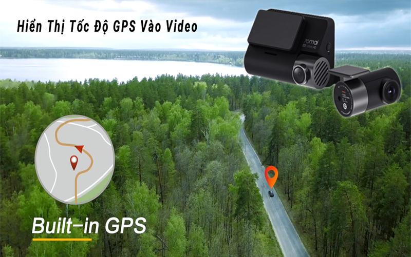 camera hành trình ô tô xiaomi tích hợp gps, modun gps a800