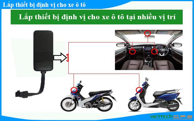 Chi tiết về cách lắp định vị xe máy đơn giản nhất