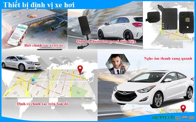 thiết bị định vị xe hơi