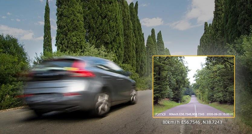 Ưu điểm ghi hình sắc nét của camera hành trình