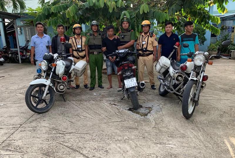 Vụ việc công an bắt trộm nhờ thiết bị định vị cho xe máy tại HCM