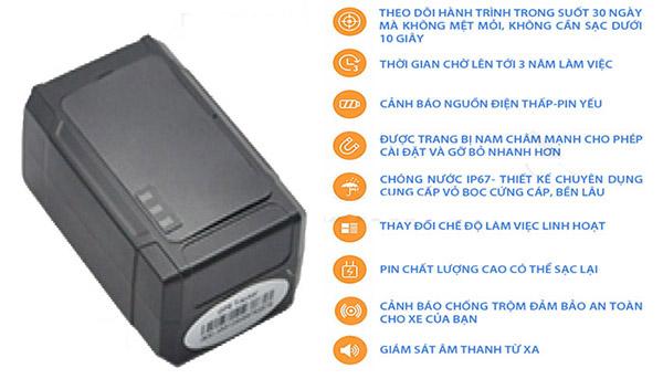 Tính năng của định vị không dây VT03D